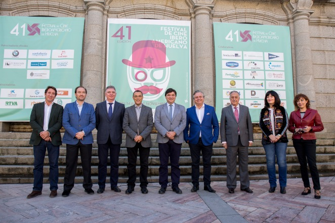 HUELVA , 11/10/15 HUELVA - Presentacion oficial del Festival de Cine Iberoamericano de Huelva . Foto: ALBERTO DIAZ